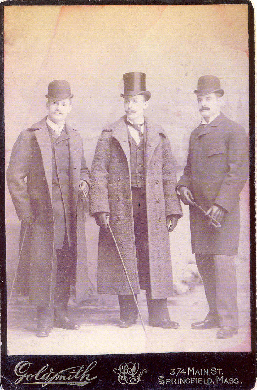Jimmy and his friends in 1890